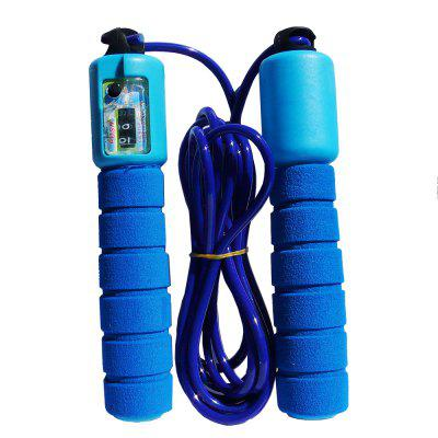 Rubber Sponge Material Count Skipping Rope Adult Children Fitness Skipping Rope