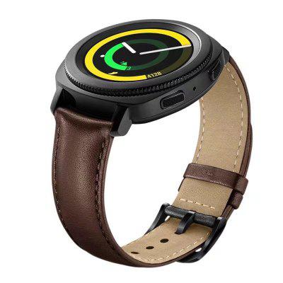 20MM Genuine Leather Watch Band Strap For Samsung Gear S2 Classic