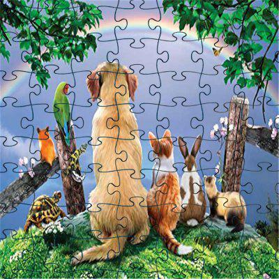 3D Cool Jigsaw Paper Puzzle Block Assembly Cumpleaños Toy