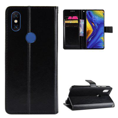 Crazy Horse PU Leather Case For Xiaomi Mi Mix 3