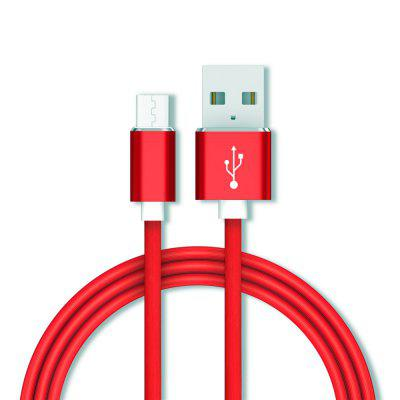 Micro USB-kabel 1m snel opladen Gegevens mobiele telefoon Android-adapter Oplaadkabel