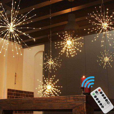 200LED Hanging String Firework Light with Remote Control for Outdoor Home Patio