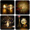 200LED Hanging String Firework Light with Remote Control for Outdoor Home Patio - WARM WHITE