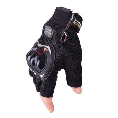 PRO-BIKER MCS-04C Motorcycle Half Finger Gloves