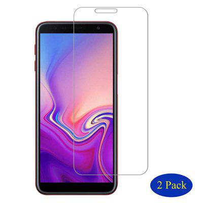 Ultra-Transparent HD Tempered Glass Film for Samsung Galaxy J6 Plus