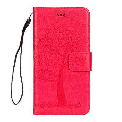 Per iphone Xr Owl Tree Wallet Bracket All Inclusive Custodia per telefono