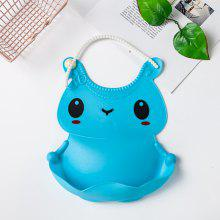 Baby Waterproof Plastic Bib Mouth Water Towel Soft
