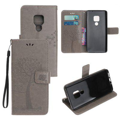 Voor Huawei Mate20 Owl Tree Wallet Bracket All-inclusive telefoonhoes