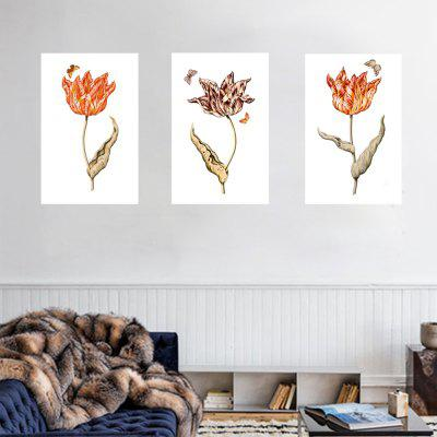 HD Waterproof Sleek Minimalist Plant Flowers4 Home Decoration Printing Poster