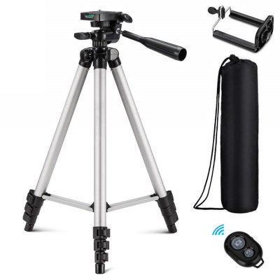 3 in 1 Universal Three-way Tripod Camera with Clip / Remote Controller for Phone