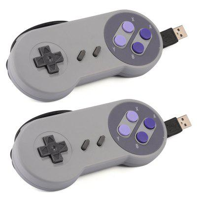 USB Game Controller for SNES USB Classic Gamepad / PC MAC Games / XP / Mac os