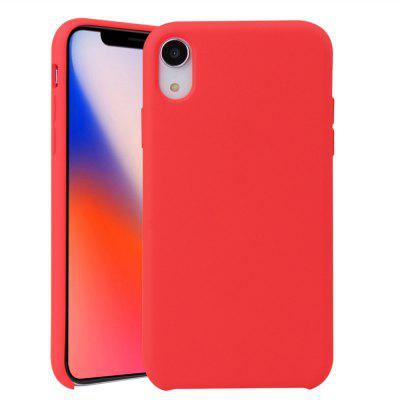 Étui de protection en silicone pour iPhone XR