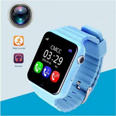 V7K GPS Smart Watch Waterproof SOS Call Positioning Lost-proof