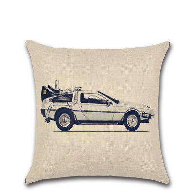 Cartoon Car 3D Printing Pillow Sofa Cushion Car