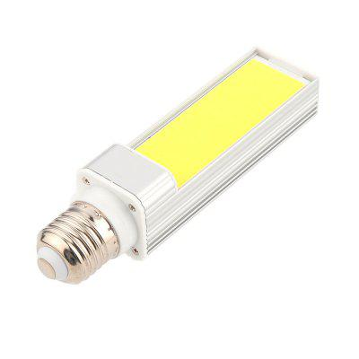 1PCS E27 9W COB LED Corn Light Horizontal Plug AC 85 - 265V