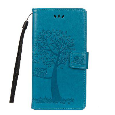 For Huawei P20pro Owl Tree Wallet Bracket All Inclusive Phone Case