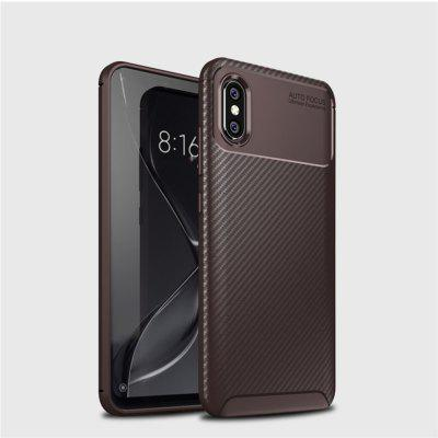 For Xiaomi8 To Explore The Version Carbon Fiber Anti-Drop Matte Phone Shell