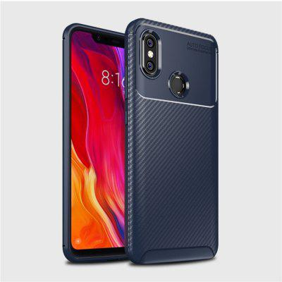 Pre Xiaomi 8 Carbon Fiber Anti-Drop Matte Phone Shell
