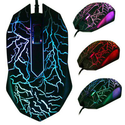 X700 USB Optical Wired Gaming Mouse voor pc Laptop Muizen