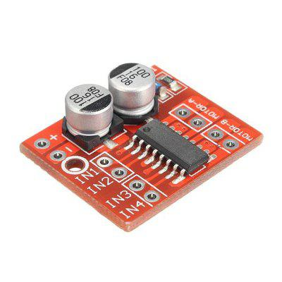Dual Channel L298N DC Motor Driver Board PWM Speed ​​Dual H Bridge Stepper Module