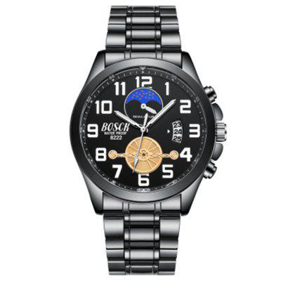 Luxury Military Wrist Watches Mens Sports Tagss Business Calendar Analog Display