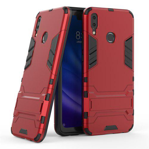 super popular 0e33c 0d2ac Armor Back Cover with Stand Solid Colored Hard for Huawei Y9 2019