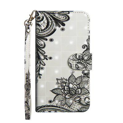 3D pintado luxo Flip Wallet Leather Case para Xiaomi 8 Lite