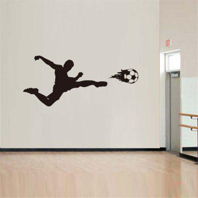 Football Sports Body-Building Encouragement Home Decoration Wall Sticker