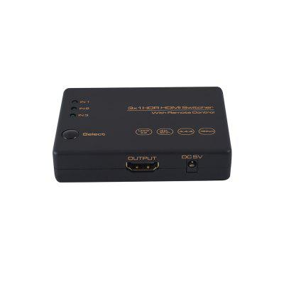 JUST IDEA Version 2.0 HDMI 3 In 1 Out Switch (4K/60Hz)