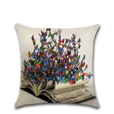 Butterfly Series 3D Beautiful Color Pillow Case Cushion Cover