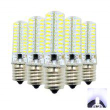 Gearbest price history to 5PCS E17 Dimmable Silicone Lamp LED Bi-pin Lights AC 220 - 240V