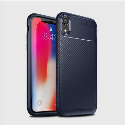 Pro iPhone XR Carbon Fiber Anti-Drop Matte Phone Shell