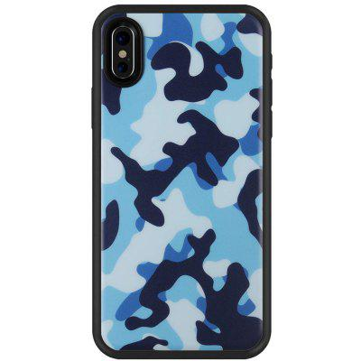 Matte Finish Camo-serie Slim Fit voor iPhone X