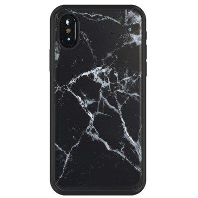 Black Marble Slim Fit Anti Scratch Shock Proof Dust Proof  TPU for iphone X