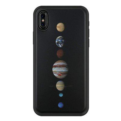 Planet Slim Fit Anti Scratch Shock Proof Dust Proof  TPU for iphone X