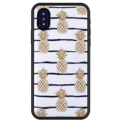 Pineapple Slim Fit anti-poussière anti-rayures TPU anti-rayures pour iPhone X