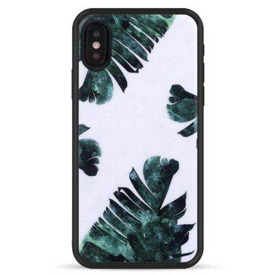 Big Leaves Slim Fit Anti Scratch Shock Proof Dust Proof  TPU for iphone X