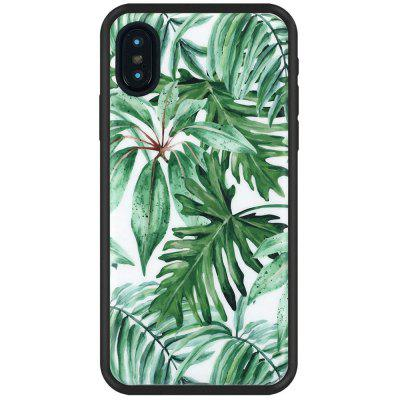 Leaves Slim Fit Anti Scratch Shock Proof Dust Proof  TPU for iphone X