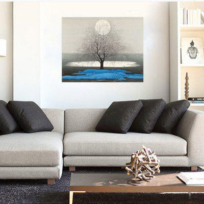 HD Waterproof Sleek Minimalist Quiet Night Decoration Printing Poster