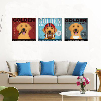 HD Waterproof Fashion Simple Decoration Printing Poster Golden Retriever Dog