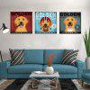 HD Waterproof Fashion Simple Decoration Printing Poster Golden Retriever Dog - MULTI-Z