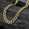 NYUK High Quality Full Diamond Necklace Accessories - GOLD