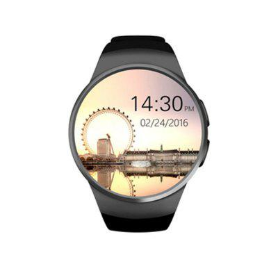 KW18 Smart Watch SIM TF Heart Rate Monitor Touch Screen bluetooth Wristwatch Image