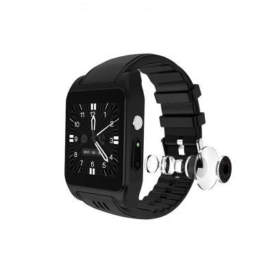 X86 Bluetooth Smart Watch RAM 512MB Rom 4G Support Sim Card 3G Wifi GPS Camera