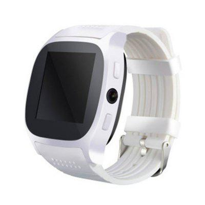 T8 Bluetooth Smart Watch Support SIM TF Card With Camera Sync Call Message