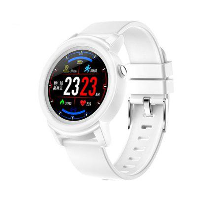 DK02 Smart Watch Message Shows Blood Pressure and Heart Rate Monitoring Image