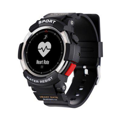 F6 Smartwatch IP68 Waterproof Bluetooth 4.0 Dynamic Heart Rate Monitor Watch Image