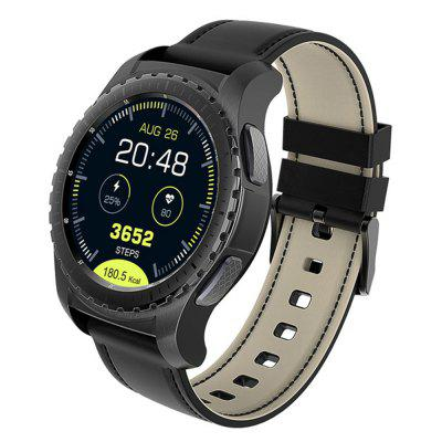 KW28 Smart Phone Watch Bluetooth 1.3 Inch Sedentary Reminder Heart Rate Monitor Image