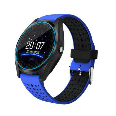 V9 Bluetooth Smart Watch suppport 2G SIM TF card Camera Pedometer for Android Image