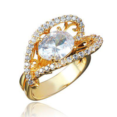 Fashion Ring For Women Ring 18K Gold Plated Rings Trendy Party Jewelry